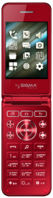 Sigma x-style 28 flip red
