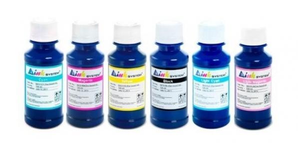 Чернила INKSYSTEM для фотопечати 100 мл (6 цветов) (Артикул 7513)