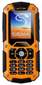 Sigma mobile X-treme IT67 Dual Sim Black Orange