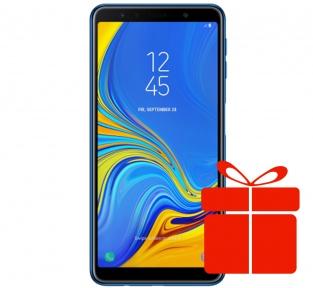 Samsung Galaxy A7 2018 Blue (SM-A750FZBUSEK)
