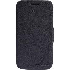 Чехол NILLKIN Samsung S7272 - Fresh Series Leather Case (Black)