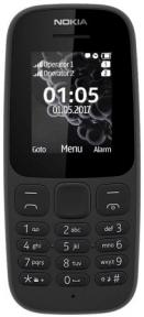 Мобильный телефон Nokia 105 Dual (Black)