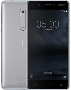 Мобильный телефон Nokia 5 Dual SIM (Silver)