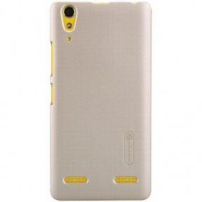 Чехол. NILLKIN Lenovo A6000/K3 - Frosted Shield Gold
