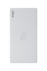 Портативная батарея ERGO 5000 mAh LP-91 White