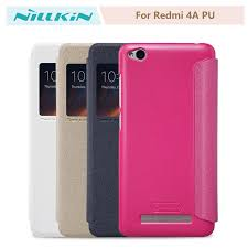 Чехол NILLKIN Xiaomi Redmi 4A Sparkle Leather PU Pink