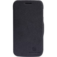 Чехол NILLKIN Samsung S7272 - Fresh Series Leather Case (Black)